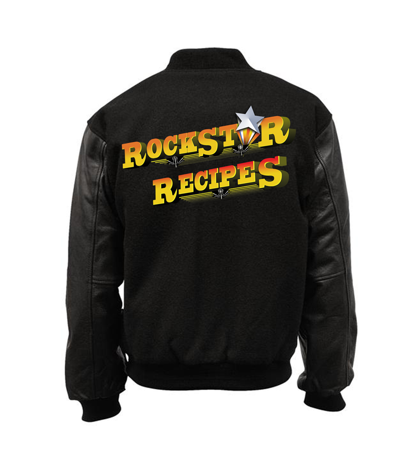 rockstar recipes tour jacket varsity